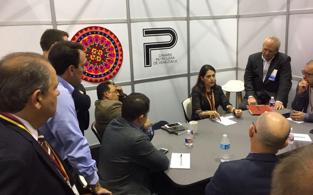 La Cámara Petrolera de Venezuela en la Offshore Technology Conference: Iniciando una tradición