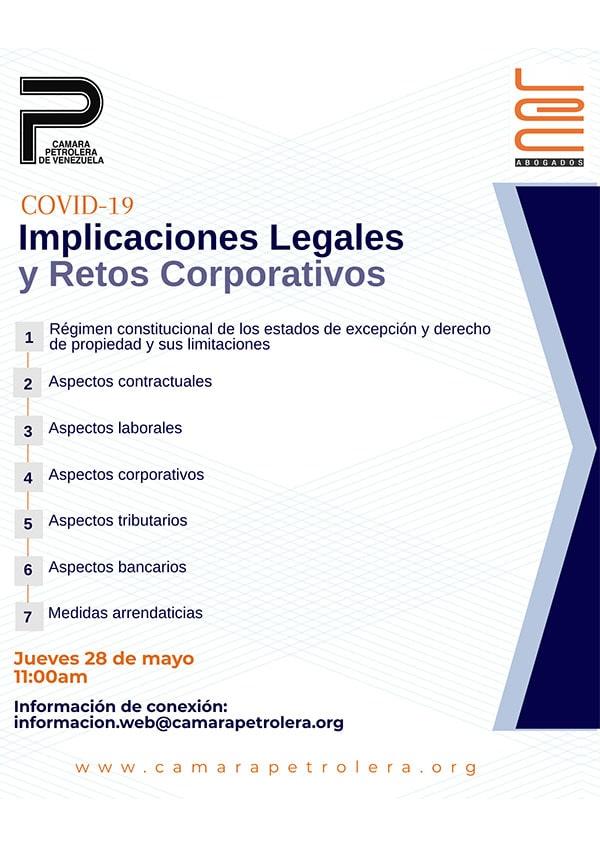 COVID-19. Implicaciones legales y retos corporativos